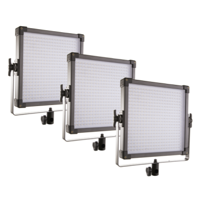 F&V K4000S LED Studio Panel | 3-Light Kit