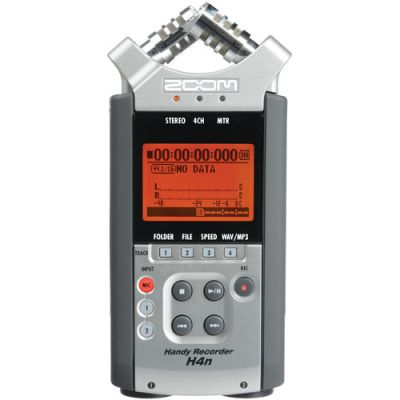 Zoom H4n Handy Mobile 4-Track Recorder