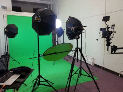 Setting up a studio for your company videos